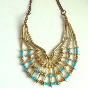 Anthropologie Pam Hiran Armature Necklace